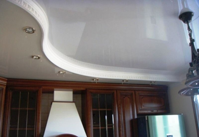 Натяжные потолки череповец фото цены